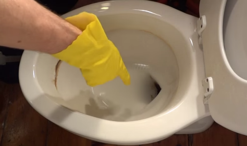 How To Remove Hard Water Stains From A Toilet Bowl